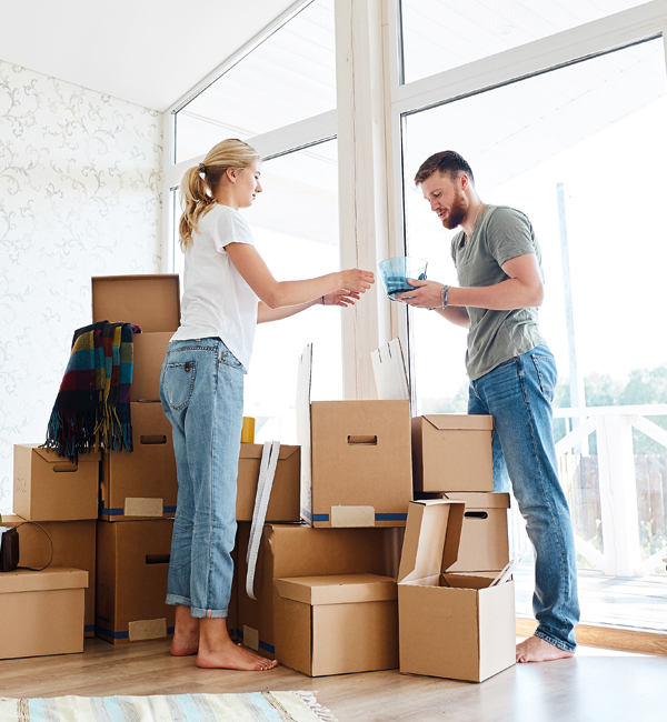Mudanças residenciais e de empresas na Maia