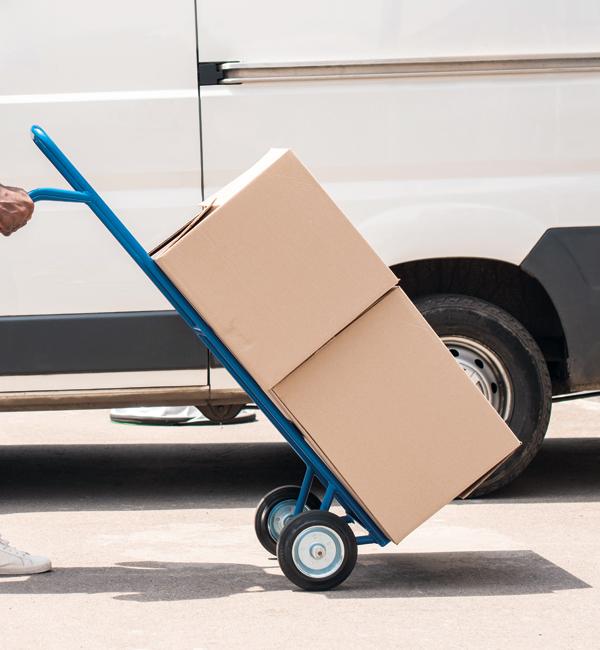 Transporte e distribuição de carga